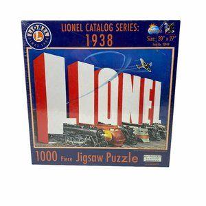 Lionel Trains Puzzle Lionel Catalog Series 1938 J